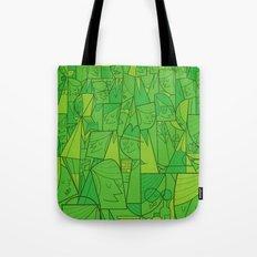 Citystreet (green version) Tote Bag