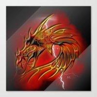 Dragon One Canvas Print