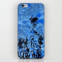 Blue Sky Silhouette iPhone & iPod Skin