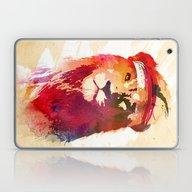 Laptop & iPad Skin featuring Gym Lion by Robert Farkas