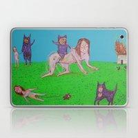 ALIEN GATOS Laptop & iPad Skin