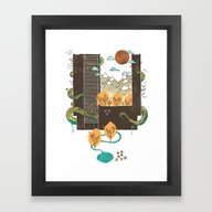 A World Within Framed Art Print