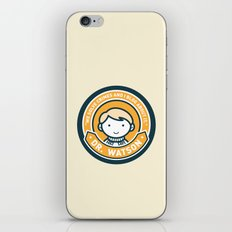 Cute John Watson - Orange iPhone & iPod Skin