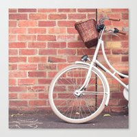 Beautiful Bike Canvas Print