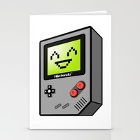 Game Boy Stationery Cards