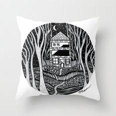 ONE FALL NIGHT Throw Pillow