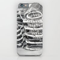 Plant Cages in the Snow iPhone 6 Slim Case
