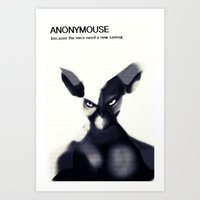 Anonymouse Art Print