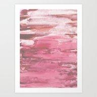 Soft Pink Art Print