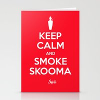 Smoke Skooma Stationery Cards
