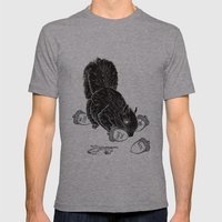 Little Acorns - The Whit… Mens Fitted Tee Athletic Grey SMALL