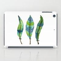 Mystic Sea Feather Trio iPad Case
