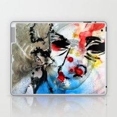The Face Of The Saint Laptop & iPad Skin