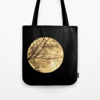 Shadows on the Moon Tote Bag