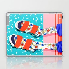 No Doi - memphis throwback retro classic style fashion 1980s 80s hipster shoes socks urban trendy Laptop & iPad Skin