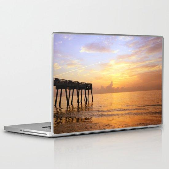 Sunrise on Vero Beach Laptop & iPad Skin