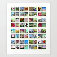 collection of moments Art Print