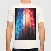 SUPERLUMINAL Mens Fitted Tee Natural SMALL