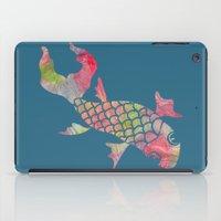 Rainbow Koi Fish iPad Case