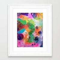 Blanket Detail III Framed Art Print