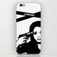 Lindsay Lohan. iPhone & iPod Skin