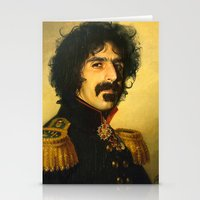 Frank Zappa - Replacefac… Stationery Cards