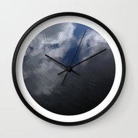 Planetary Bodies - Cloud Ripple Wall Clock