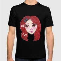 Ruby Mens Fitted Tee Black SMALL