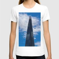The Shard Womens Fitted Tee White SMALL
