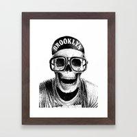Mars Blackmon Framed Art Print