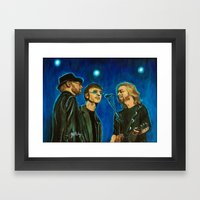 Bee Gee's Framed Art Print