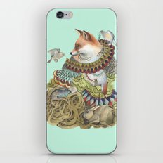 Quilted Comrades in the Forest iPhone & iPod Skin