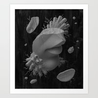 Fragments I Art Print