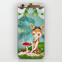 The shadoe's World iPhone & iPod Skin
