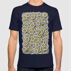 Daisy Mens Fitted Tee Navy SMALL