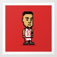 8-Bit: Scottie Pippen Art Print