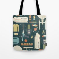 To Boldly Go... Tote Bag