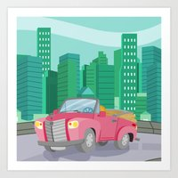 CAR (GROUND VEHICLES) Art Print