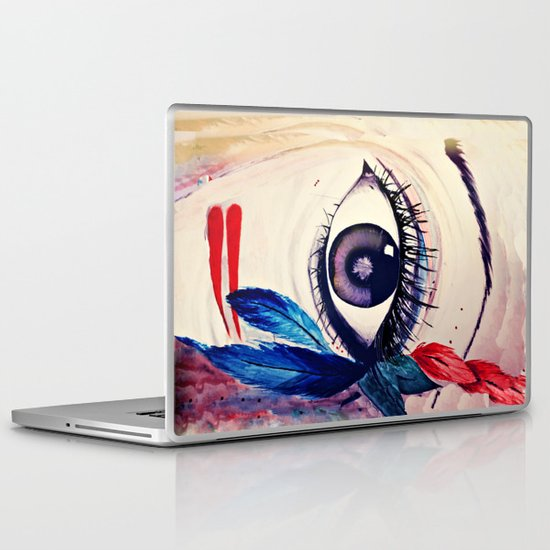 native american eye Laptop & iPad Skin