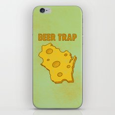 Beer Trap iPhone & iPod Skin