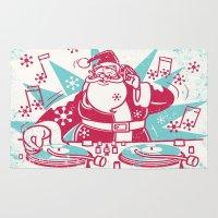 Funky Santa Rug