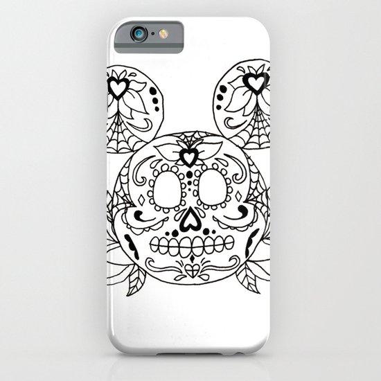 Mickey Sugar Skull iPhone & iPod Case
