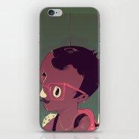 Black-water coconut iPhone & iPod Skin
