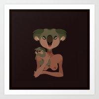 Wildlife - Koala Art Print