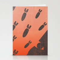 living with air strikes - an illustrated guide Stationery Cards