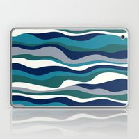 Cordillera Stripe: Teal … Laptop & iPad Skin