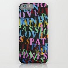 Love #2 iPhone 6s Slim Case