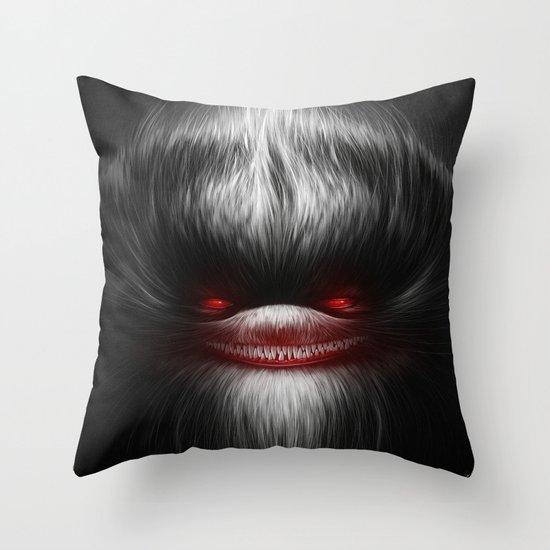EVIL Throw Pillow