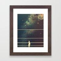 Caretaker  Framed Art Print
