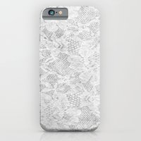iPhone & iPod Case featuring White Lace by Valerie Hoffmann